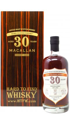 Macallan - Hard To Find Single Sherry Cask - 1989 30 year old Whisky