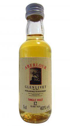 Aberlour - Single Highland Malt Miniature 12 year old Whisky
