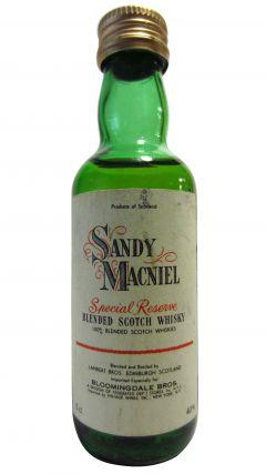 Blended Malt - Sandy Macniel Miniature Whisky