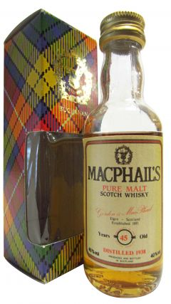 Macphail's - Pure Malt Scotch Miniature - 1938 45 year old Whisky