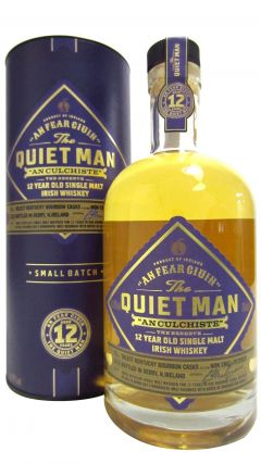 Secret Irish - The Quiet Man Single Malt Irish 12 year old Whiskey