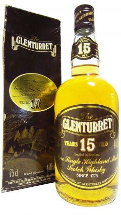Glenturret - Single Highland Malt (old bottling) 15 year old Whisky