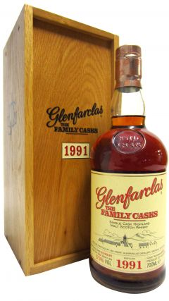 Glenfarclas - The Family Casks #5623 - 1991 15 year old Whisky