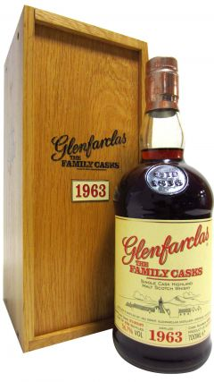 Glenfarclas - The Family Casks #4098 - 1963 43 year old Whisky