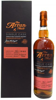 Arran - Single Cask #1963 - 1996 15 year old Whisky