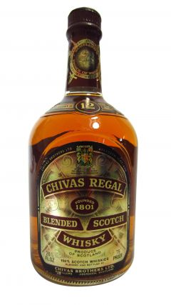 Chivas Regal - Blended Scotch 12 year old Whisky