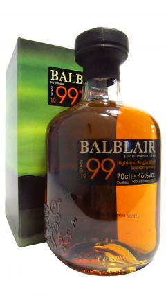 Balblair - 1999 Vintage 3rd Release - 1999 18 year old Whisky