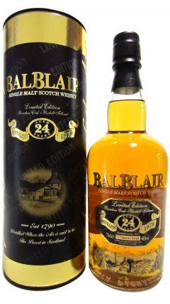 Balblair - Limited Edition Single Malt - 1979 24 year old Whisky