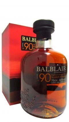 Balblair - 1990 Vintage - 1990 24 year old Whisky