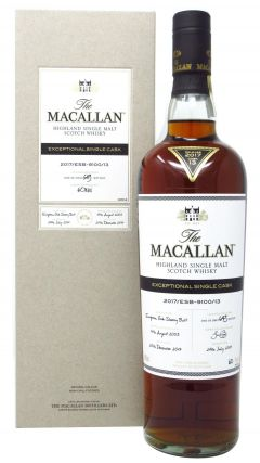 Macallan - Exceptional Single Cask #13 - 2003 14 year old Whisky