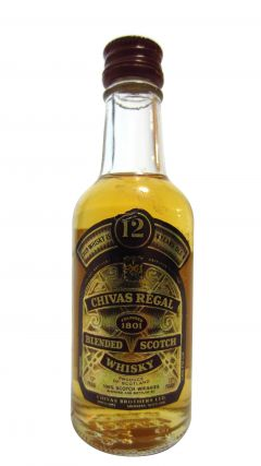 Chivas Regal - Blended Scotch Miniature 12 year old Whisky
