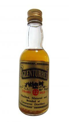Glenturret - Miniature 12 year old Whisky