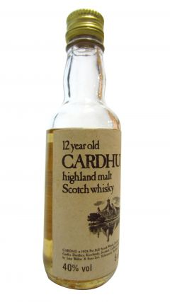 Cardhu - Highland Malt Miniature 12 year old Whisky