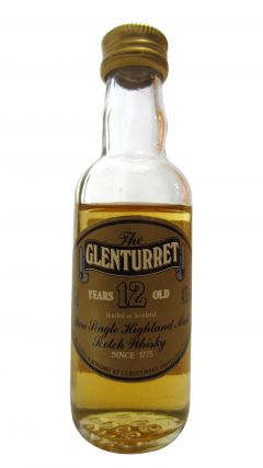 Glenturret - Pure Single Highland Malt Miniature 12 year old Whisky