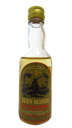 Glen Scotia - Scotch Miniature 5 year old Whisky
