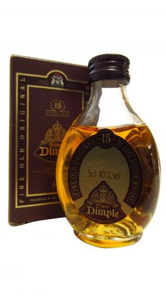 Dimple - Fine Old Original Deluxe Miniature 15 year old Whisky