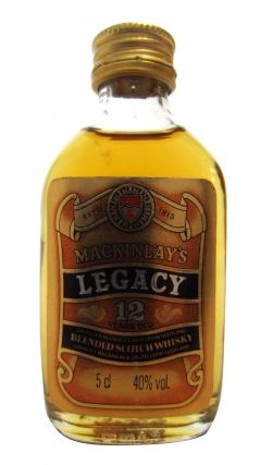 Mackinlay's - Legacy Miniature 12 year old Whisky