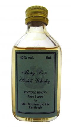 Blended Malt - Mary Rose Scotch Miniature 8 year old Whisky