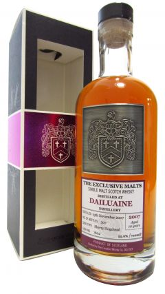 Dailuaine - The Exclusive Malts Single Cask #1602 - 2007 10 year old Whisky