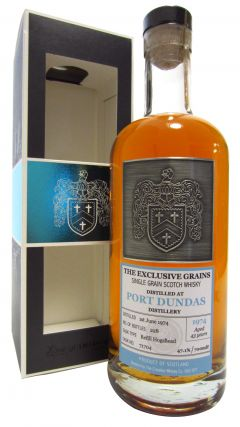 Port Dundas (silent) - The Exclusive Grains Single Cask #71704 - 1974 43 year old Whisky