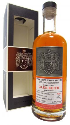 Glen Keith - The Exclusive Malts Single Cask #157662 - 1994 23 year old Whisky