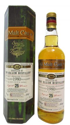 Port Ellen (silent) - Old Malt Cask - 1980 25 year old Whisky