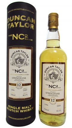 Springbank - Duncan Taylor NC2 - 1996 12 year old Whisky