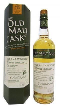 Littlemill (silent) - Old Malt Cask - 1991 18 year old Whisky