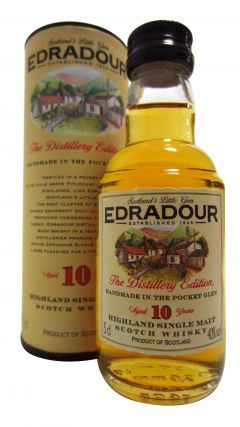 Edradour - The Distillery Edition Miniature 10 year old Whisky