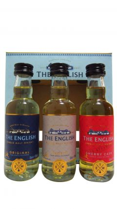 The English Whisky Co. - 3 x 5cl Miniature Gift Pack Whisky