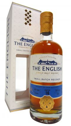 The English Whisky Co. - Chapter 16 - Smokey PX Cask - 2010 7 year old Whisky