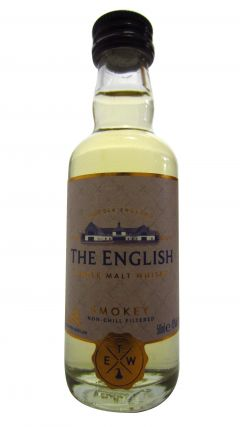 The English Whisky Co. - Smokey Miniature Whisky