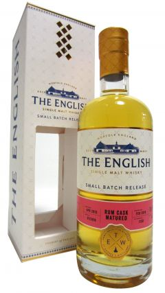 The English Whisky Co. - Rum Cask Small Batch Release - 2013 4 year old Whisky