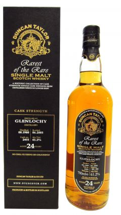 Glenlochy (silent) - Rarest Of The Rare - 1980 24 year old Whisky