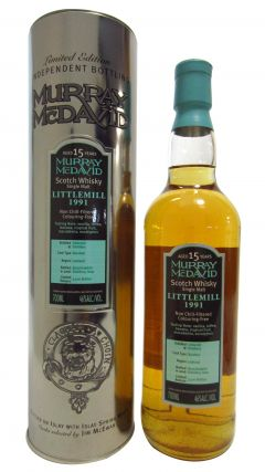 Littlemill (silent) - Murray McDavid - 1991 15 year old Whisky