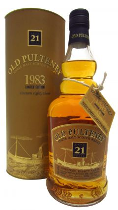 Old Pulteney - Single Malt Scotch - 1983 21 year old Whisky