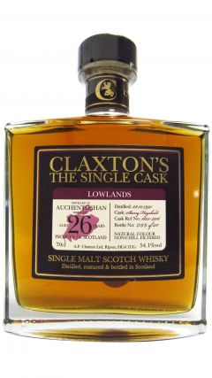Auchentoshan - Claxton's Single Cask #1835-2918 - 1991 26 year old Whisky