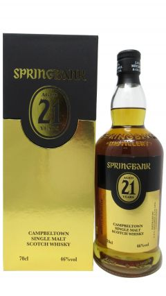 Springbank - Campbeltown Single Malt 2018 Edition 21 year old Whisky