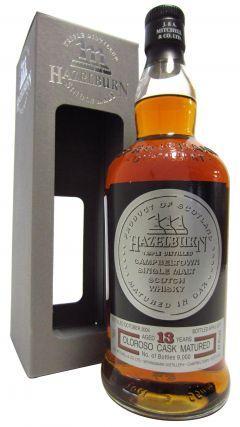 Hazelburn - Oloroso Cask Matured - 2004 13 year old Whisky
