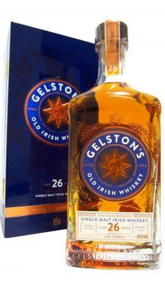 Gelston's - Single Malt Irish 26 year old Whiskey