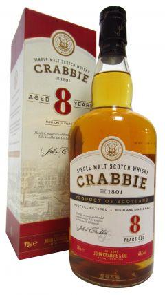 Crabbie - Highland Single Malt 8 year old Whisky