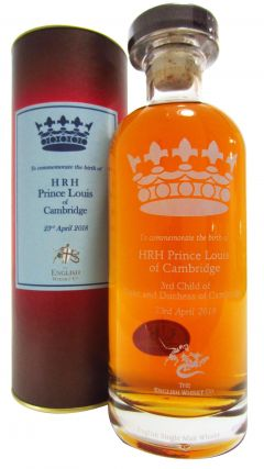 The English Whisky Co. - HRH Prince Louis of Cambridge Whisky