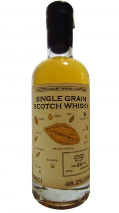 Port Dundas (silent) - That Boutique-Y Whisky Company Batch #1 25 year old Whisky