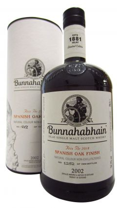Bunnahabhain - Feis Ile 2018 Spanish Oak Finish - 2002 16 year old Whisky