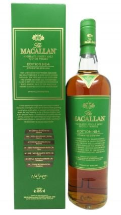 Macallan - Edition No. 4 - Single Malt Whisky