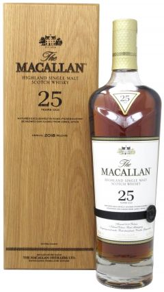 Macallan - Sherry Oak 2018 Release 25 year old Whisky