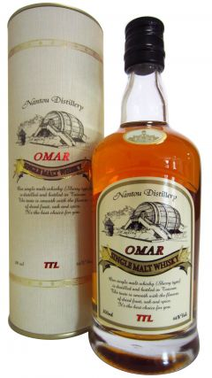 Nantou - Omar Sherry Cask Single Malt (200ml bottle) Whisky