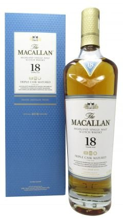 Macallan - Fine Oak Triple Cask Matured 2018 Edition 18 year old Whisky