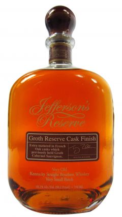 Jefferson's - Groth Reserve Cask Finish 6 year old Whiskey