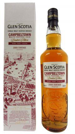 Glen Scotia - Ruby Port Finish - 2008 Whisky
